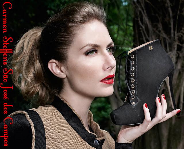 Carmen Steffens lança nova coleção em grande estilo …