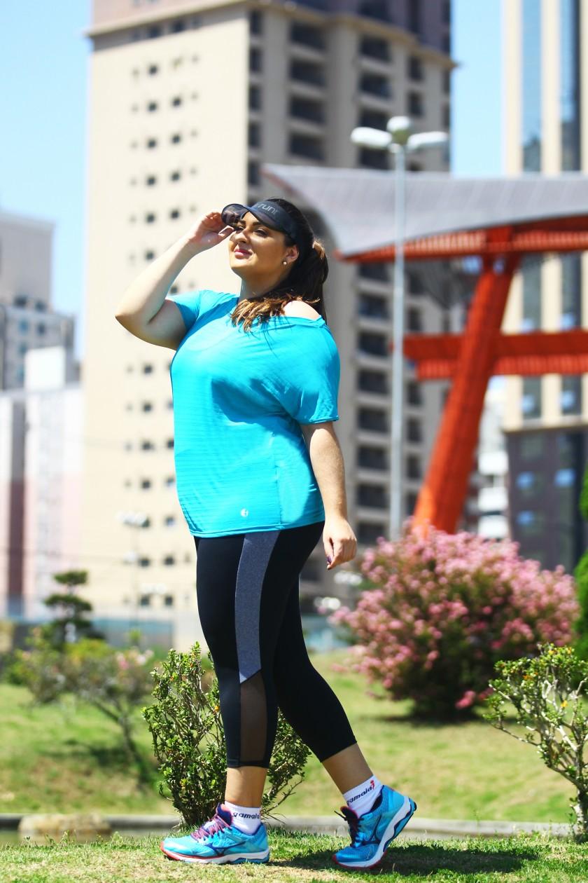 moda plus size fitness