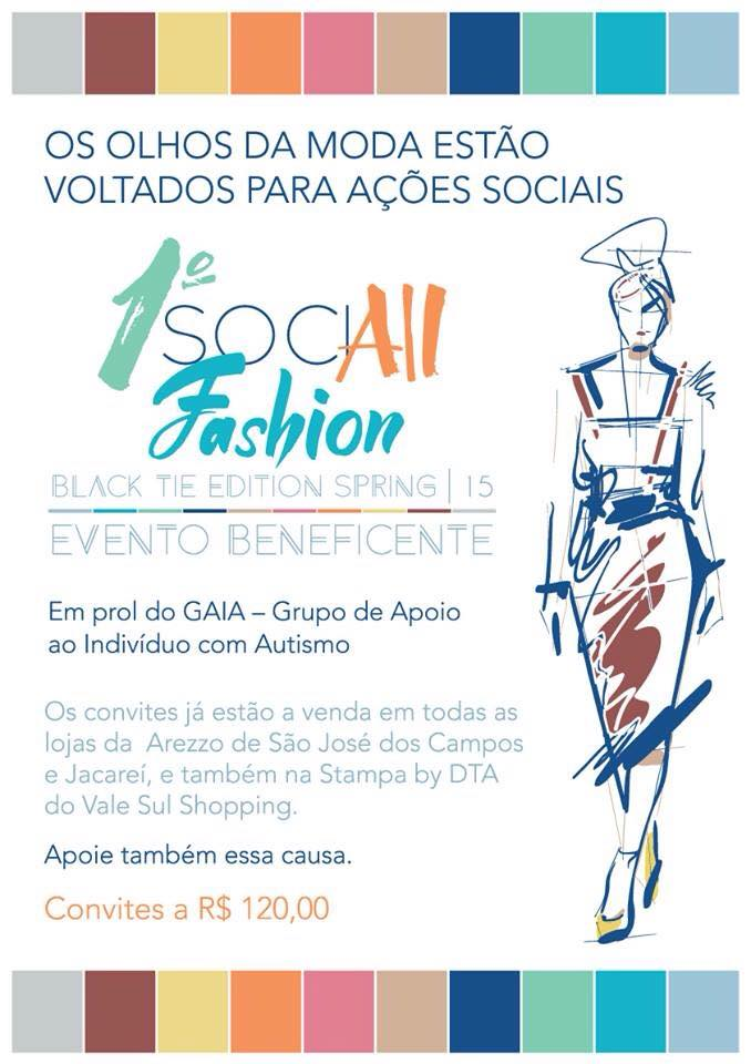 1º SociALL Fashion Black Tie 2015 – São José dos Campos