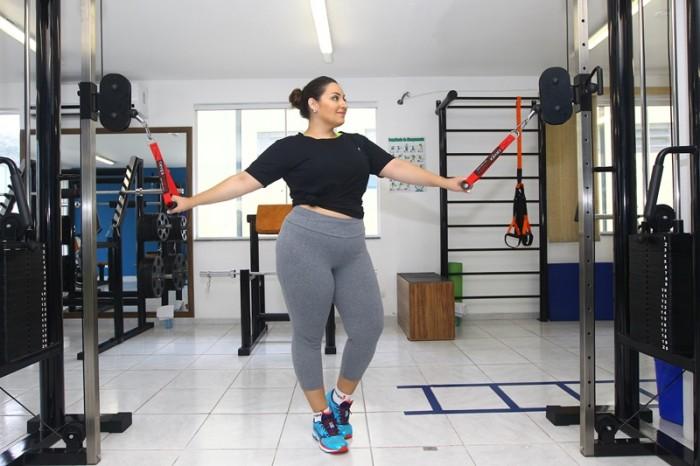 Moda fitness plus size na Gamaia Esportes