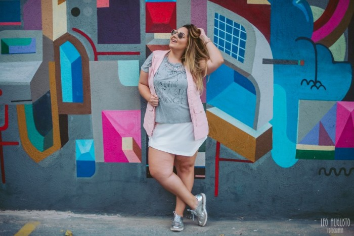 Look Plus – Colete + Tshirt