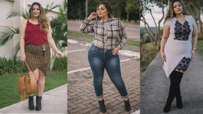 Meus Looks Plus Size com Botas